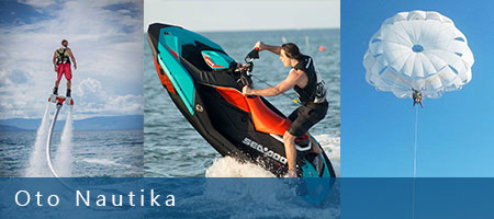 Water sports, jet ski, parasailing, flyboard